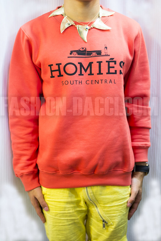 SHOP homies orange jumper