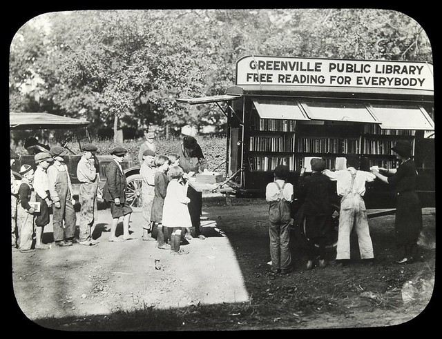 Greenville Public Library, [mobile library service]