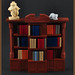 The Bookcase (H. P. Lovecraft's Study) by Xenomurphy