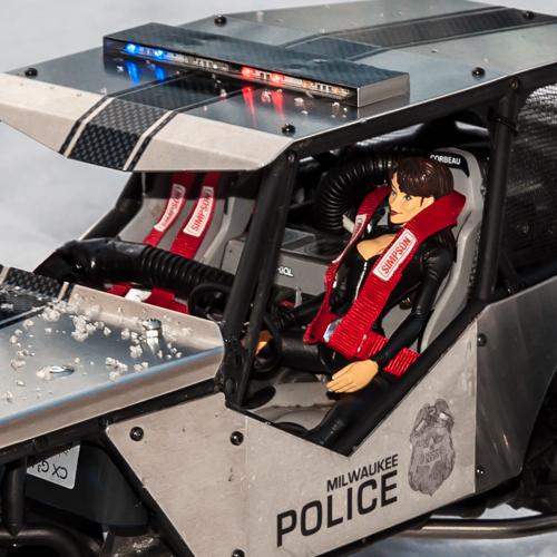 Police Wraith Rccrawler