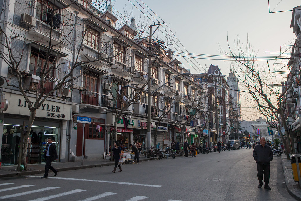 Late Afternoon on Ninghai Lu, Shanghai