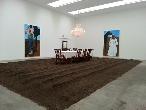 Installation View at Blum & Poe for the Henry Taylor Show