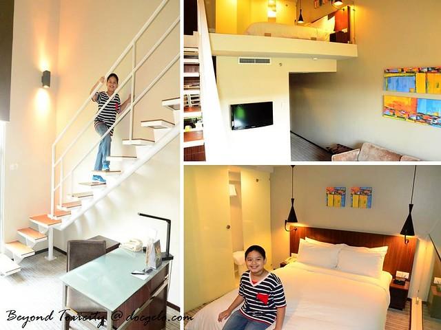 soho duplex room easting hotel penang