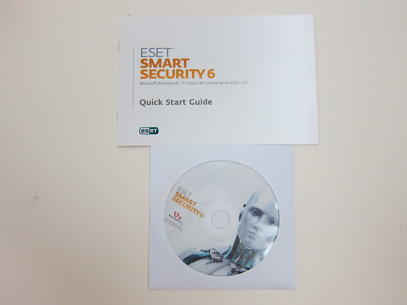 ESET Smart Security 6 - Box Contents