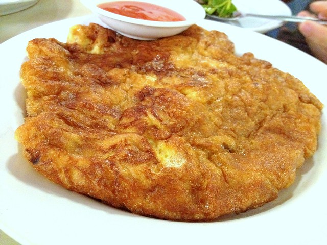 Fried Omelet with Minced Pork