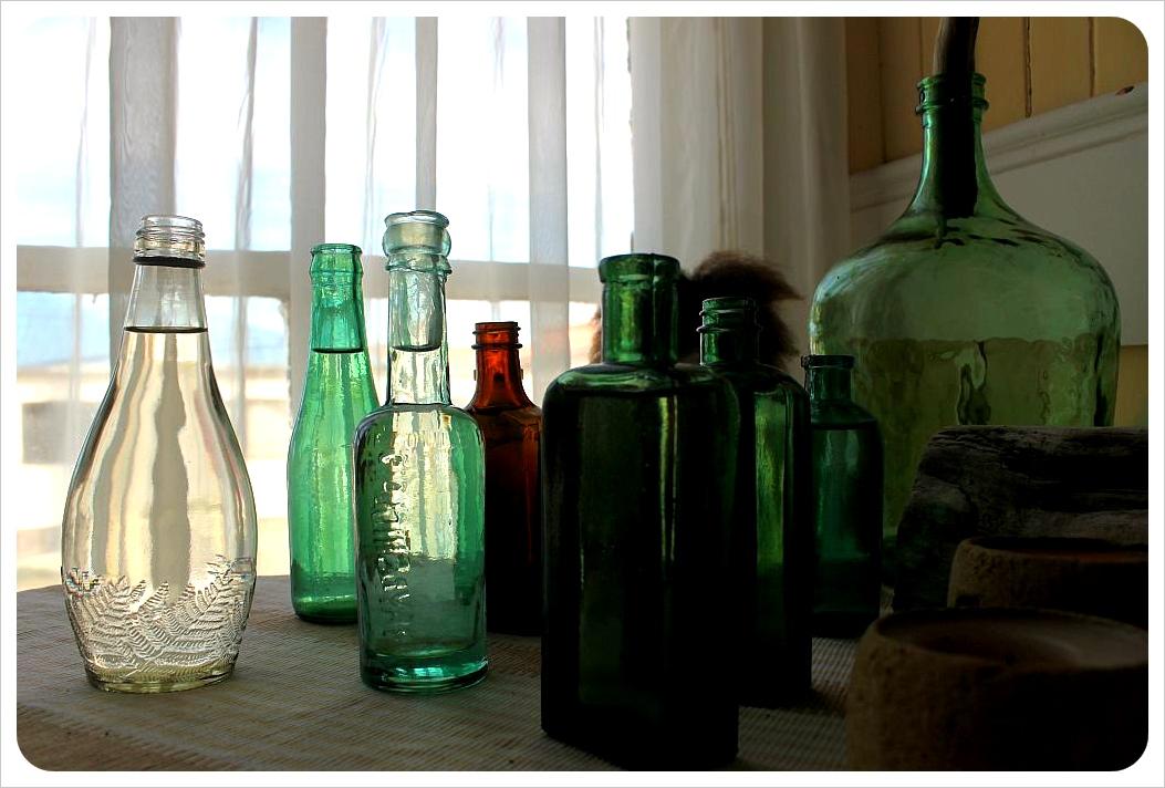 yendegaia hosteria porvenir bottles