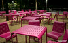 Grand Park's Pink Chairs by STERLINGDAVISPHOTO