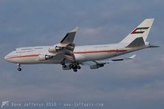 A6-COM B747-400 Dubai Air Wing