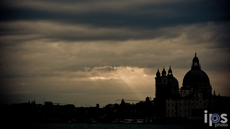 Sunbeams over Venice