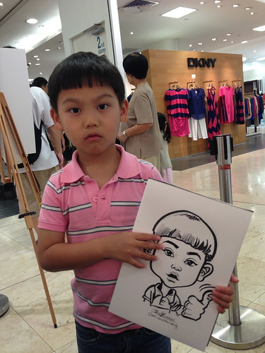 caricature live sketching for Takashimaya Good Friday Special - 34