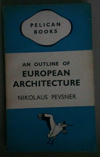 First Edition of An Outline of European Architecture picked up today