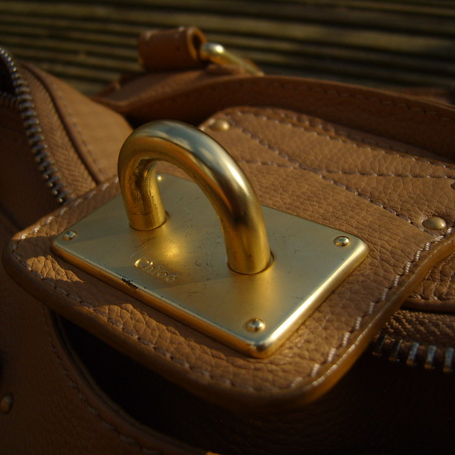 Chloe Paddington Bag Padlock