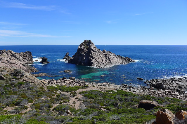 Almost at the Sugarloaf Rock.