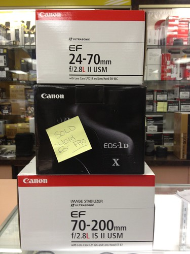 My new CANON Gear