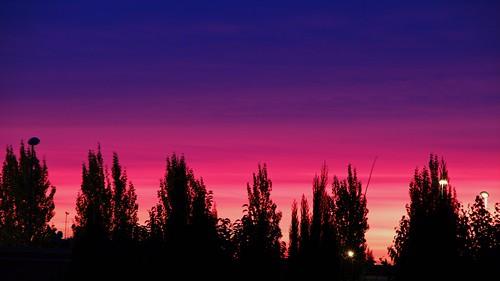 tramonto di periferia