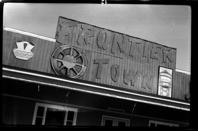 Frontier Town marquee, Lake George, N.Y.