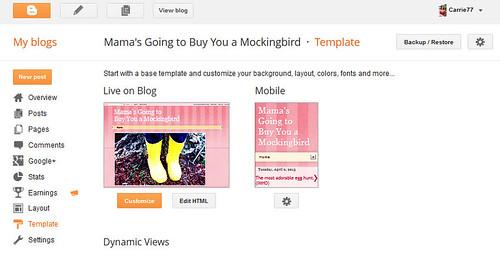 Blogger Backup Restore