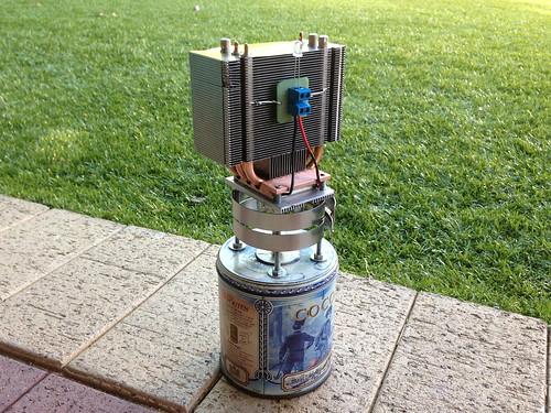 Oil Lamp TEG (Rear)