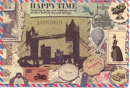 Happy Time Postcard