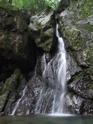 朝日滝一の滝 2011.8.6-1