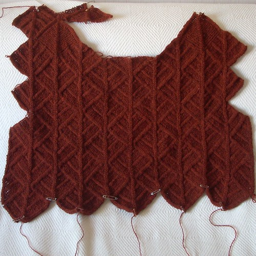 Domino sweater progress by Asplund