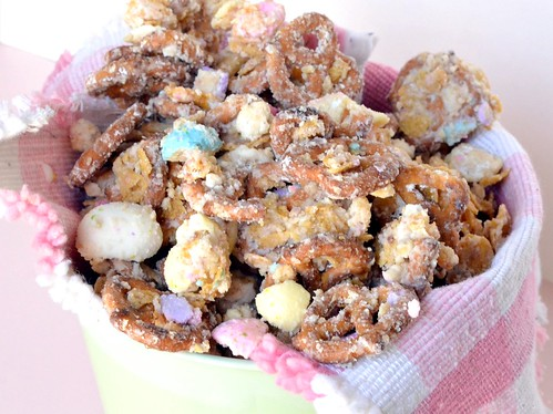 Leftover Easter Candy Snack Mix
