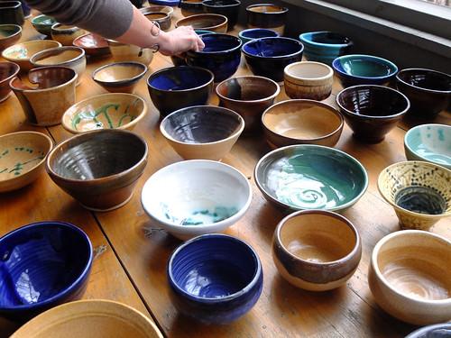 Empty Bowls 2013