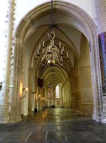Haarlem - St Bavo aisle