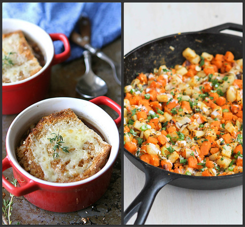 ... Sweet Potato & Endive Hash Recipe with Sriracha Buttermilk Sauce