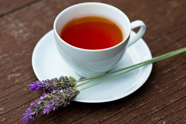 Black Tea with Natural Lavender by Yuri Hayashi, on Flickr