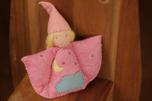 Waldorf Tooth fairy doll (with pocket)