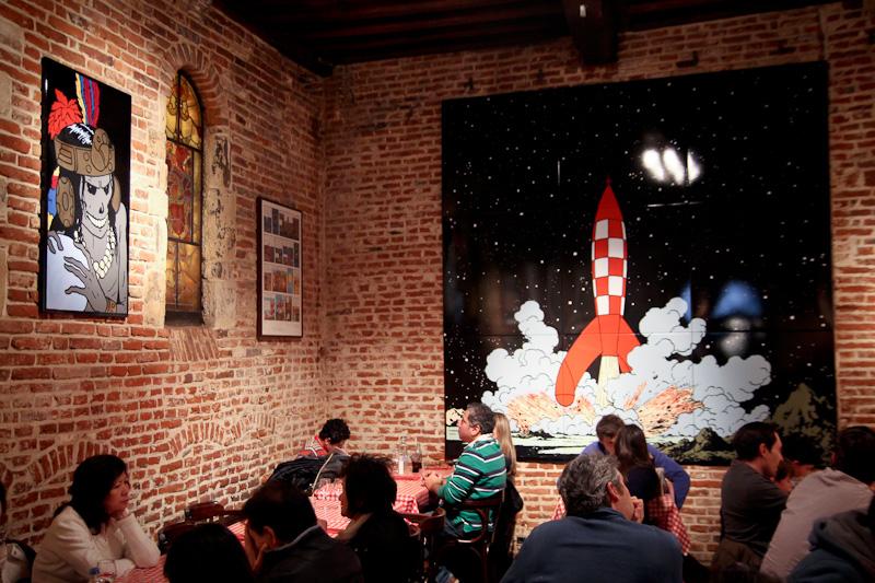 Love Bruxelles - Comic's café
