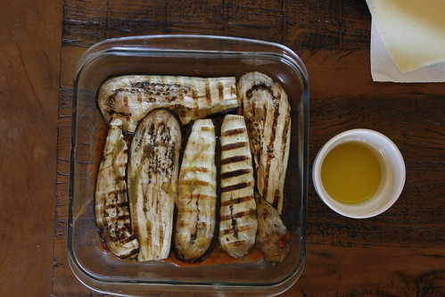 Parmigiana de berinjela