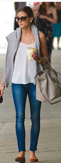 Olivia Palermo Camisole Vest Celebrity Style Women's Fashion
