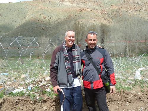 Me and Hasan Yıldırım at the border by mattkrause1969