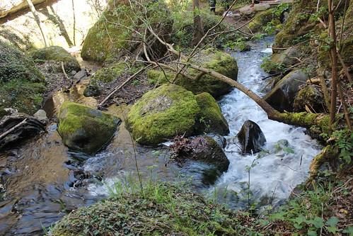 El Salto del agua ruta La Rioja Matute