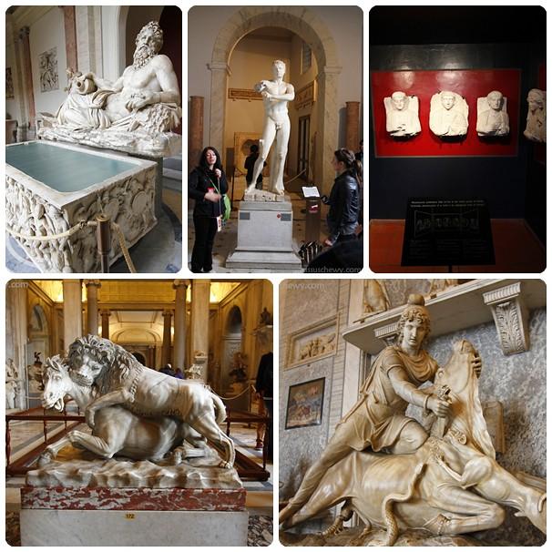 Vatican Museum collage