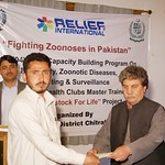 Chitral Relief International 4 days capacity building workshop