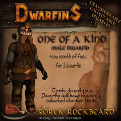 Auction Item: Dwarfin Rorek Rockbeard