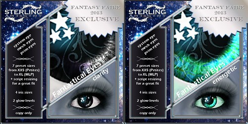Fantastical Eyes exclusives