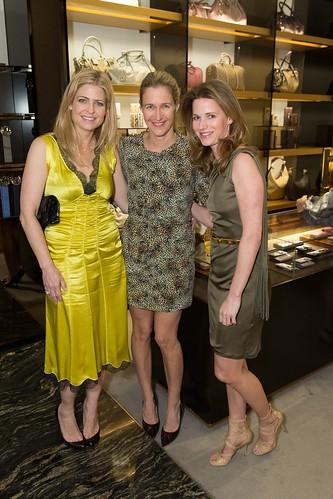 Jenna Hunt, Nina Stanford, Lindsay Bolton