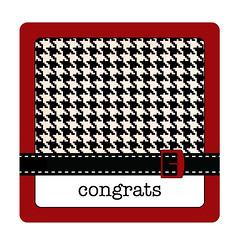 congrats tag