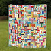Rail Fence quilt finish! by StitchedInColor