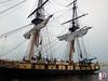 Niagara approaches the dock