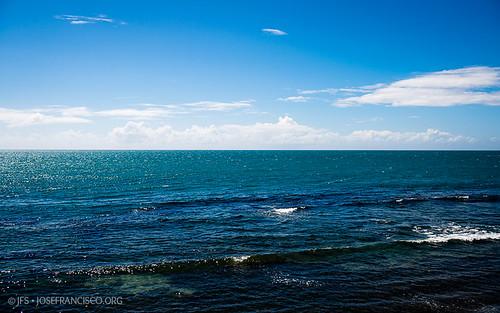 ocean blue sea cloud azul clouds mar nikon puertorico cielo nubes pr nikkor ponce atlanticocean nube marcaribe caribbeansea d4 océano westindies océanoatlántico greaterantilles 2470mmf28g antillasmayores isladesanjuanbautista 2013013111434