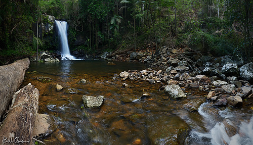 park panorama water creek waterfall nikon rainforest rocks stream ninja logs australia national queensland nikkor tamborine nodal rrsbh55 1735mmf28 d800e