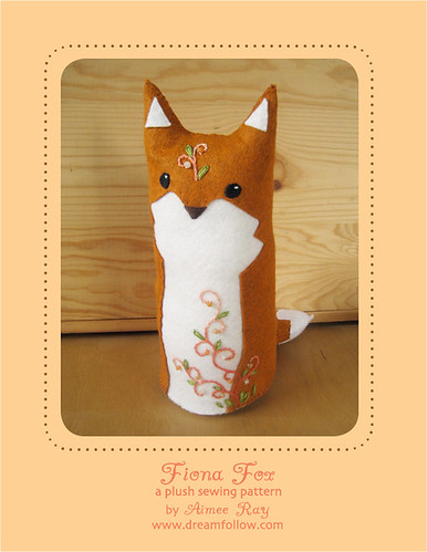 Fiona Fox plush pattern