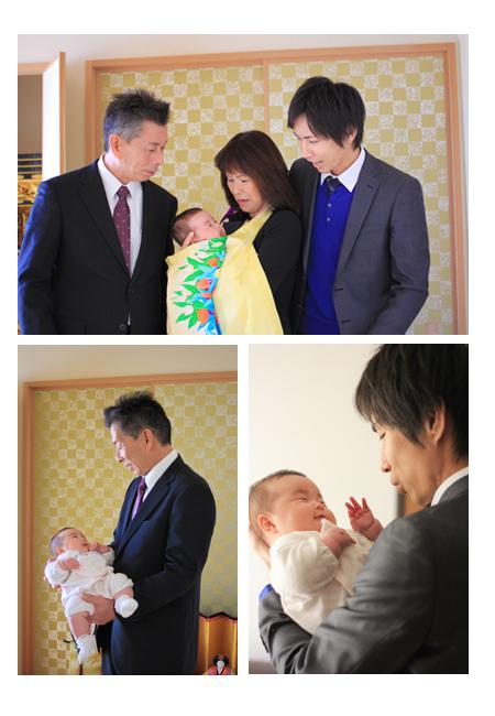 お宮参り お食い初め 赤ちゃん写真 ベビーフォト 家族写真 瀬戸市