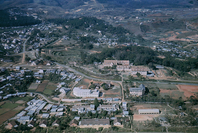 Dalat 1971 - Domaine de Marie - photo by tellico
