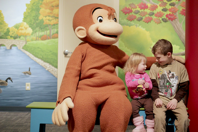Children's Museum Rochester for Breakfast with Curious George